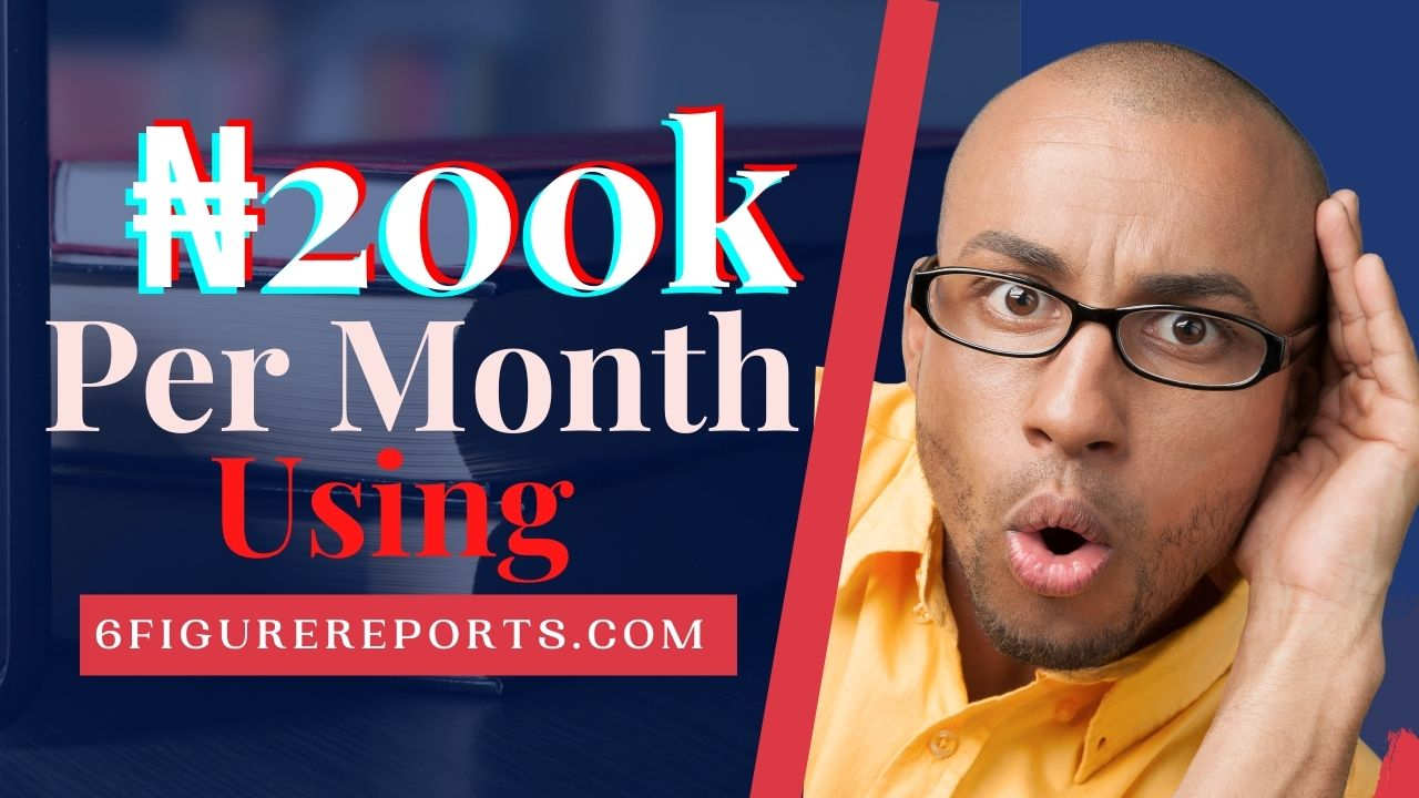 How to Make 200k Per Month with 6Figure Reports
